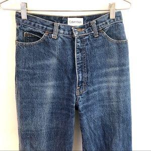 Vintage sky high waist 80s Calvin Klein Jeans